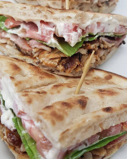 Chicken Gyro Club Sandwich in Pafos