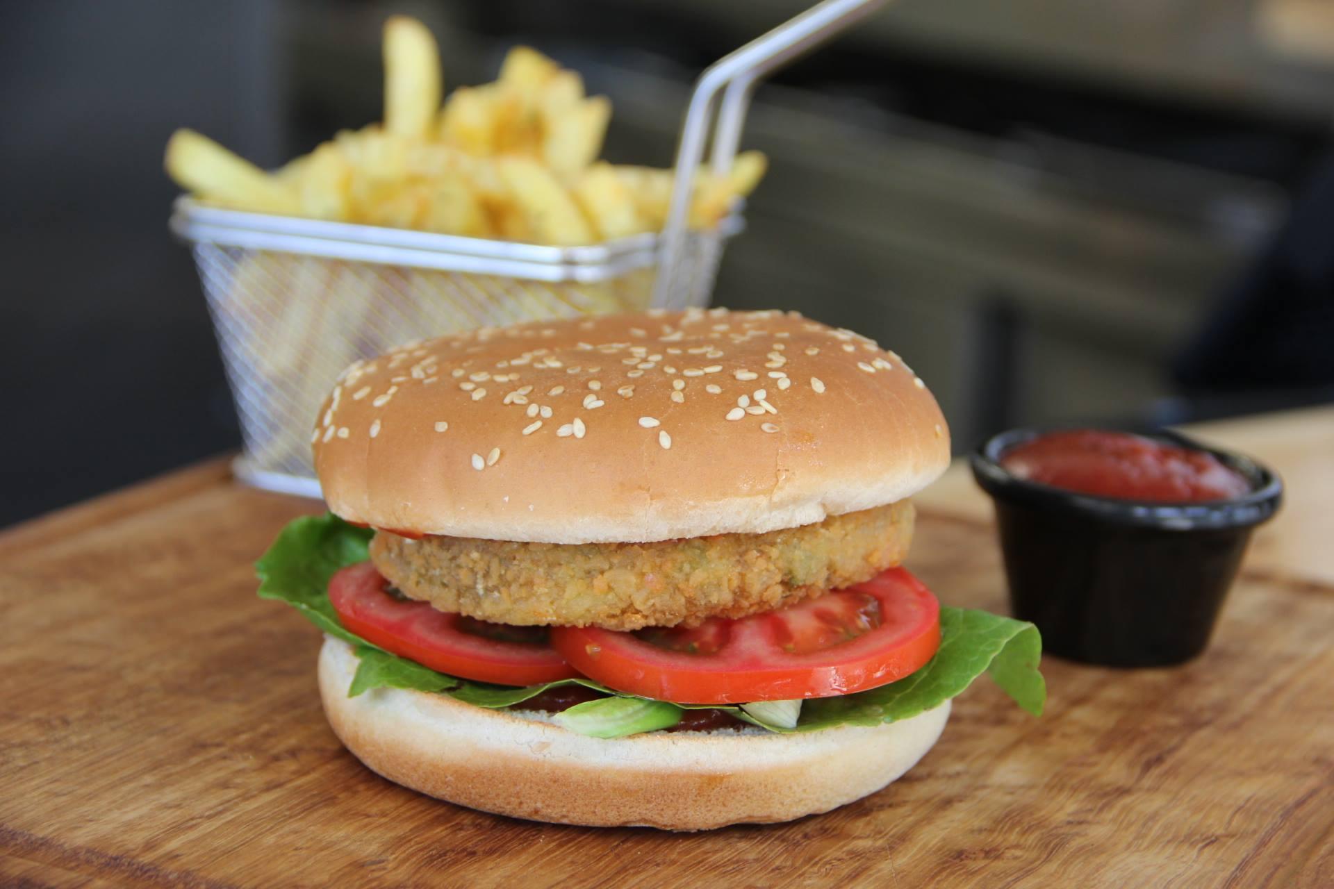 Veggie Burger in Paphos