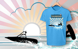 This Summer is Wakeboarding time Thunersee
