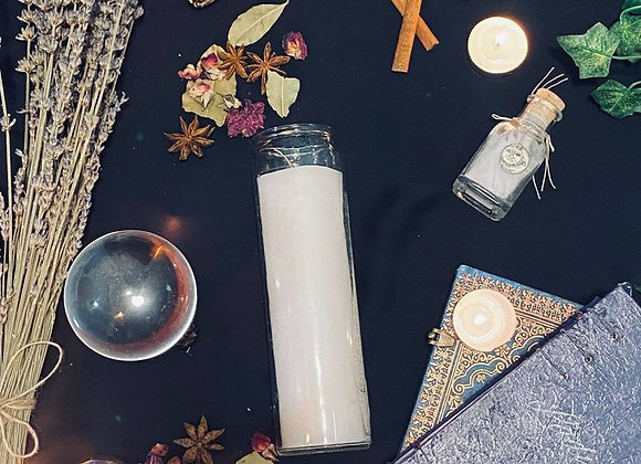 7/23 Full Moon in Aquarius 7-Day Protection and Cleanse Dressed with Oils/Herbs