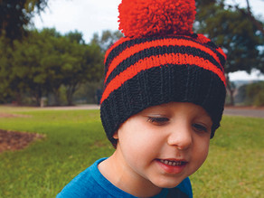 Easy beanie knitting pattern!