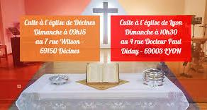 Dimanche 7 mars - Prédication Arnaud Alibert à l'Église Évangélique Arménienne de Lyon