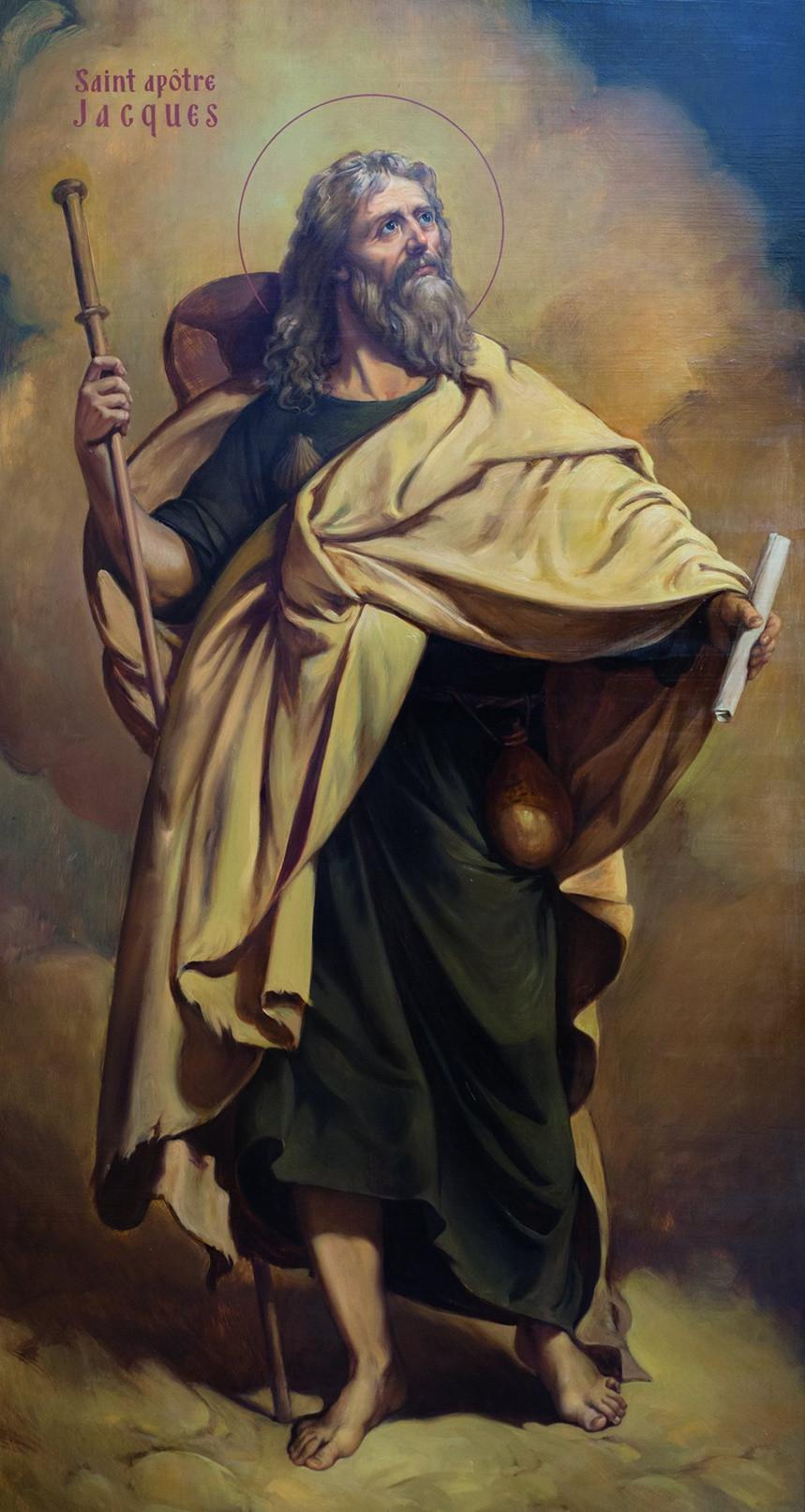 Tableau de St Jacques apôtre
