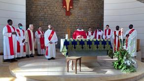 Homélie du P.Arnaud lors de la première messe de Rémi-Clovis. Valpré. Dimanche 28 juin 2020.