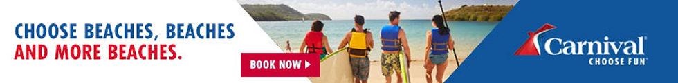 Carnival Banner Strip - Beaches, Beaches