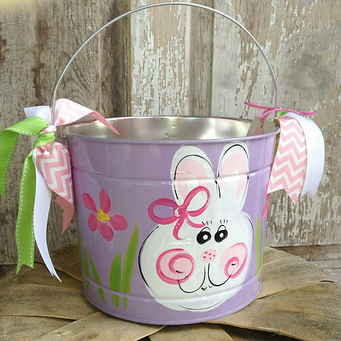 Purple Bunny Bucket