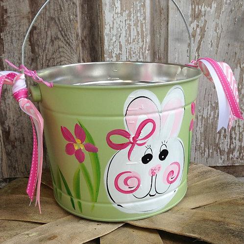 Green Bunny Bucket
