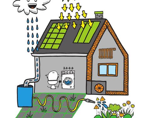 Avez-vous un système de récupération d'eau de pluie?