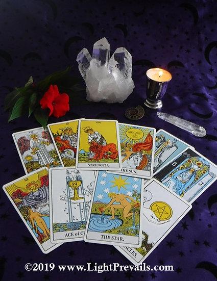 Intuitive Tarot Consultation - 1 hr