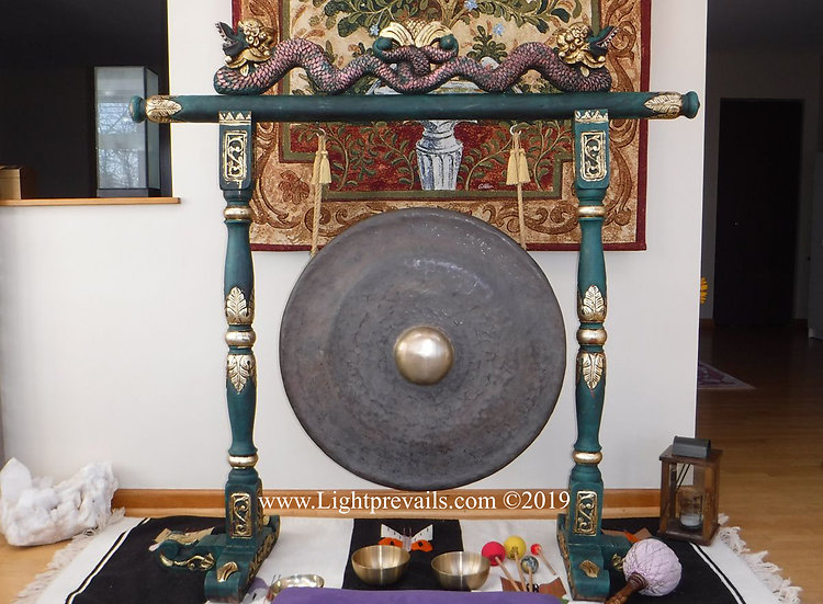 Gong Meditation Private Individual Session - 1 hr