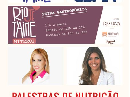 Palestra de Nutrição em Niterói-RJ!