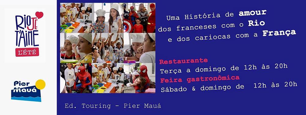 Rio Je T'aime Kids - Inscrições Gratuitas
