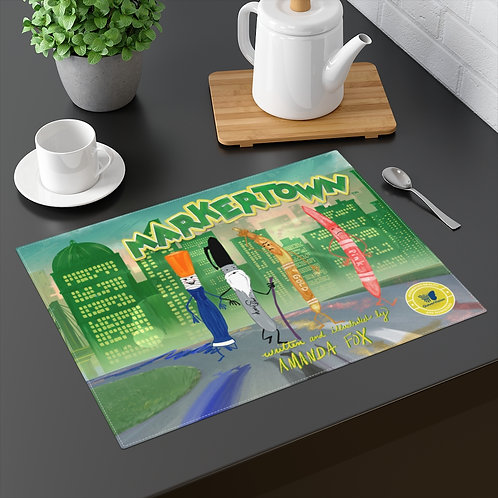 Markertown Color Placemats