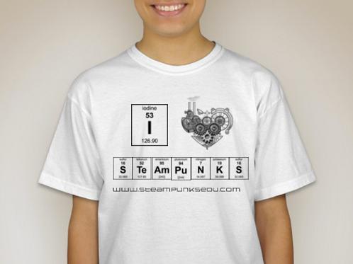 I heart STEAMPunks (short sleeves)