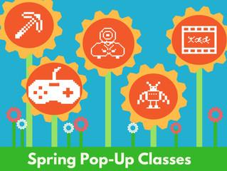 Pop-Up Classes: Short STEAM Classes that Rock!