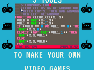 N00bs Welcome: 5 Tools to Make Your Own Video Games