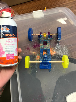 3D Printed Rubber Band Race Car
