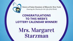 Lottery Calendar Winner - May 17, 2021