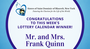 Lottery Calendar Winner - July 20, 2020
