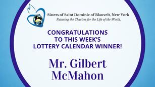 Lottery Calendar Winner - May 24, 2021