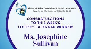 Lottery Calendar Winner - July 27, 2020