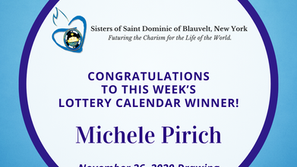 Lottery Calendar Winner - November 26, 2020