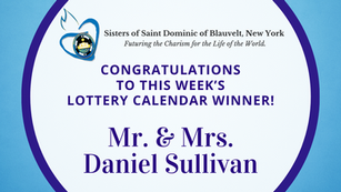 Lottery Calendar Winner - October 7, 2020