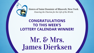 Lottery Calendar Winner - May 3, 2021