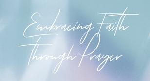 Embracing Faith Through Prayer – World Homeless Day