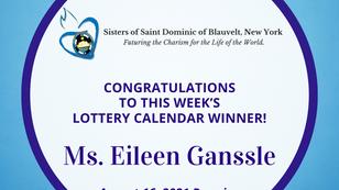 Lottery Calendar Winner - August 16, 2021