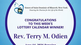 Lottery Calendar Winner - June 14, 2021
