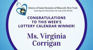 Lottery Calendar Winner - October 5, 2020