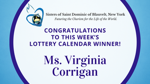 Lottery Calendar Winner - October 5, 2020