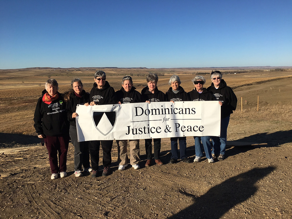 Sister Ceil Lavan in Standing Rock, North Dakota