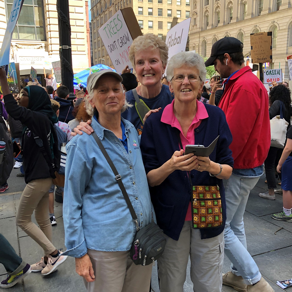 Sister Arlene Flaherty and friends