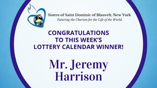 Lottery Calendar Winner - May 31, 2021