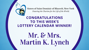 Lottery Calendar Winner - December 14, 2020
