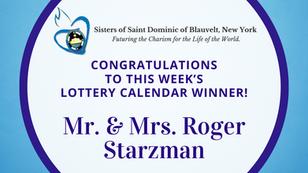 Lottery Calendar Winner - December 7, 2020