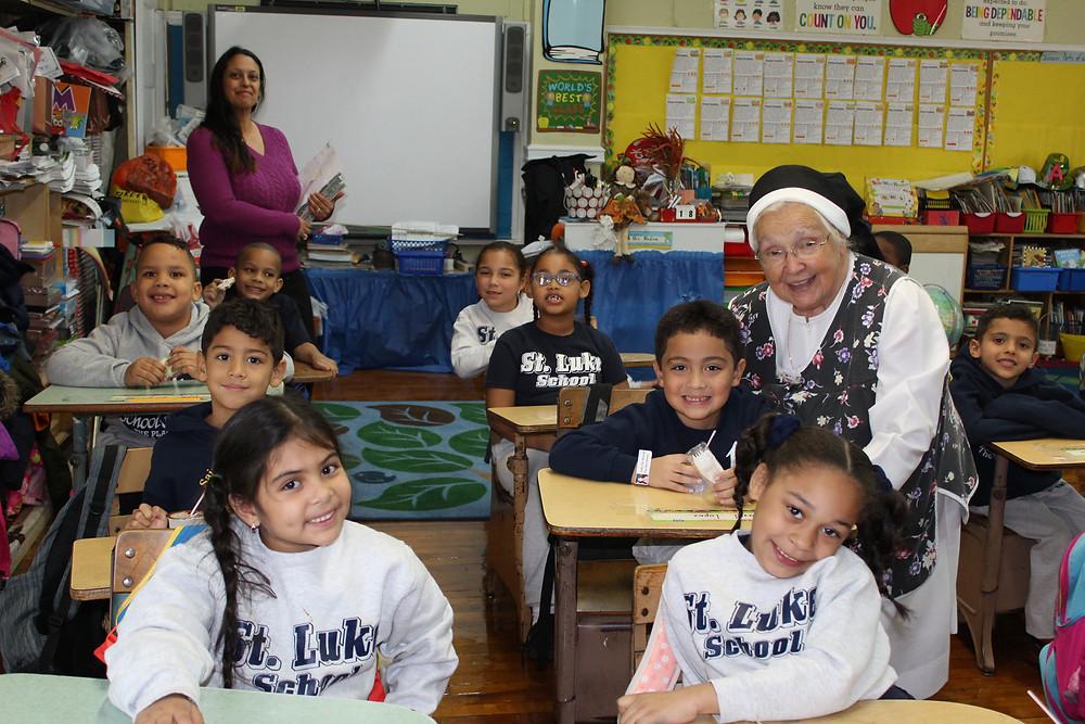 Sister Grace Augustine Canevari, OP, Assistant Principal at St. Luke's School