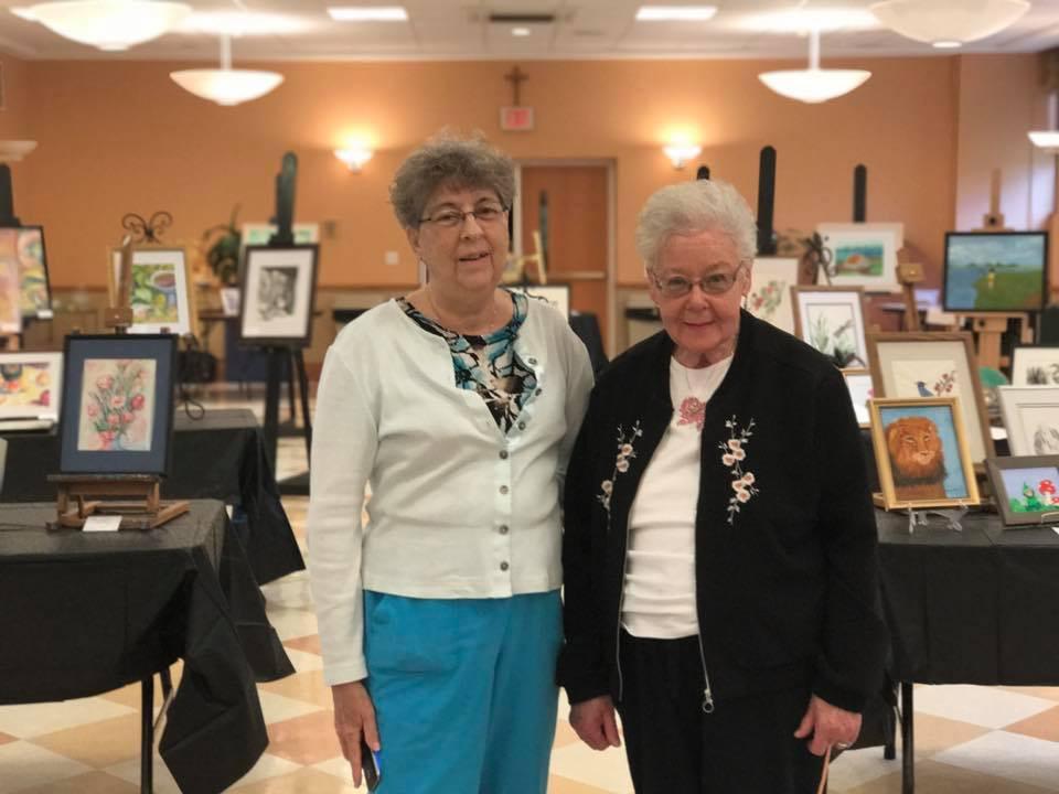 Sr. Joan Smith, OP, and Eileen Foti
