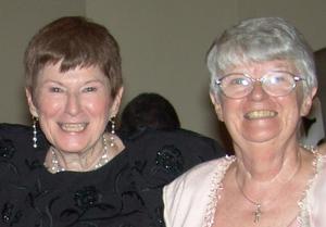 Sisters Bernadette and Mechtilde Doherty