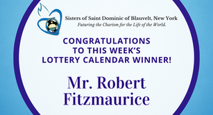 Lottery Calendar Winner - September 28, 2020