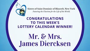 Lottery Calendar Winner - October 26, 2020