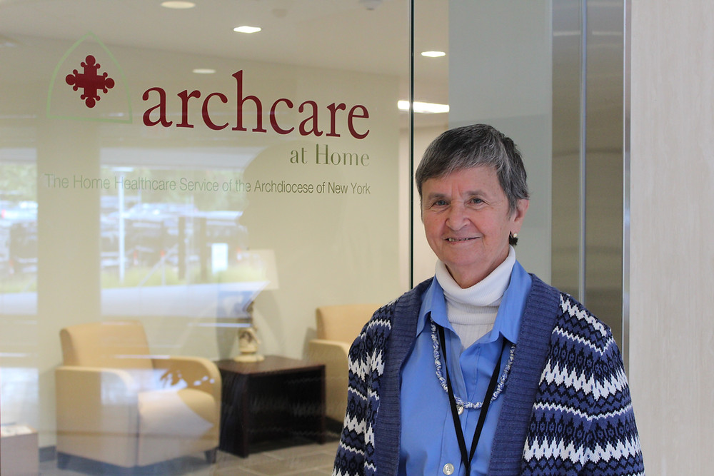 Sister Jo-Anne Faillace at Archcare at Home