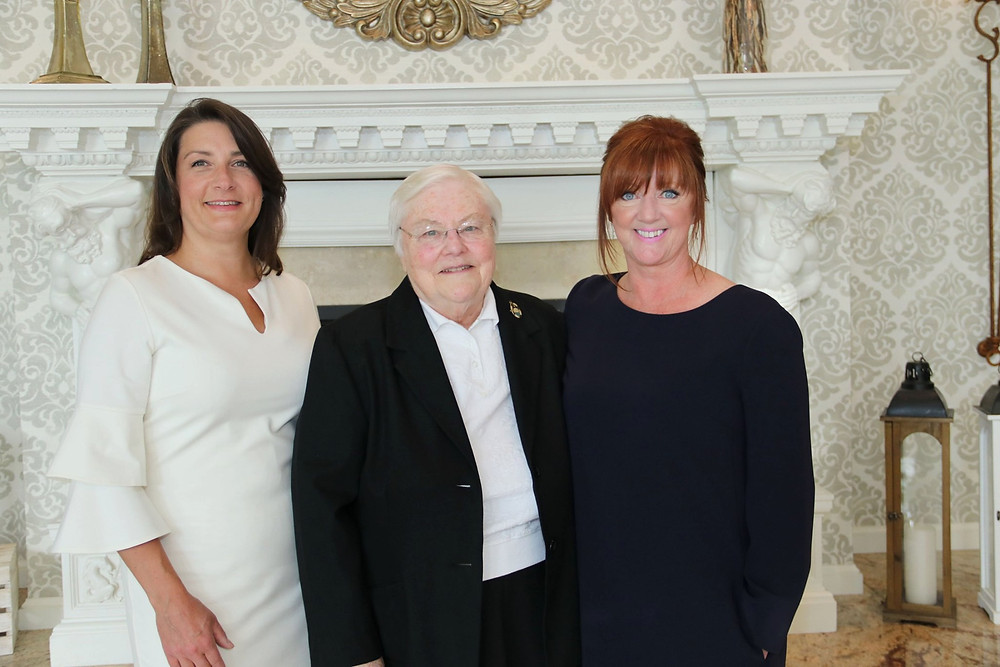 Sister Anne Daniel Young, OP at the Spirit of Service Awards Dinner