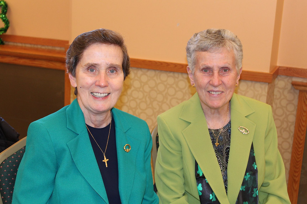 Sisters Mary Flood and Margaret Flood
