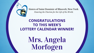 Lottery Calendar Winner - March 29, 2021