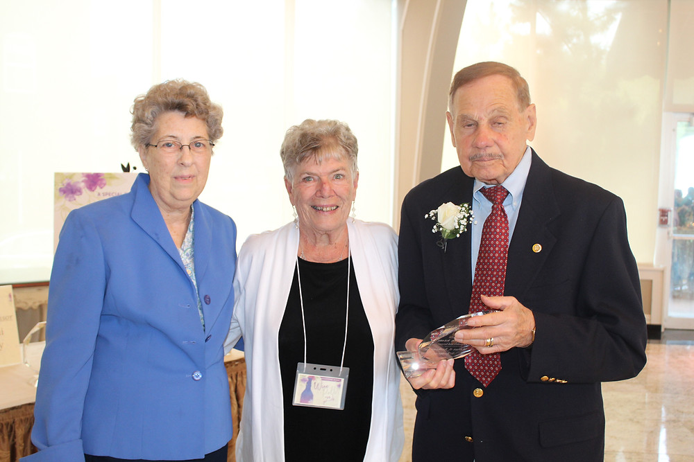 Sister Joan Smith, OP, Anthony D'Ambrosio, and Marian D'Ambrosio