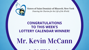 Lottery Calendar Winner - April 4, 2021