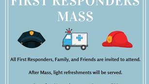 First Responders Mass Invitation